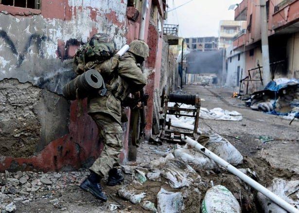 Asker ve polisten karış karış tarama! 34