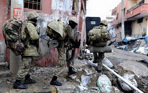 Asker ve polisten karış karış tarama! 5