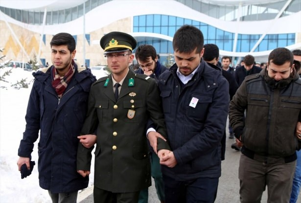 Sivas'ta gözyaşları sel oldu 14
