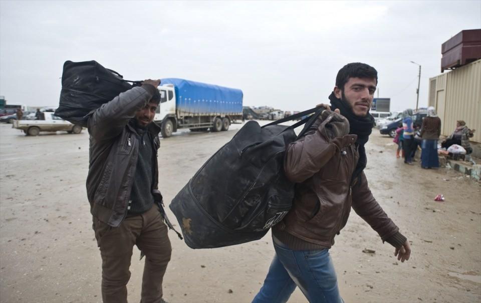 Halep-Azez yolu dram dolu 10