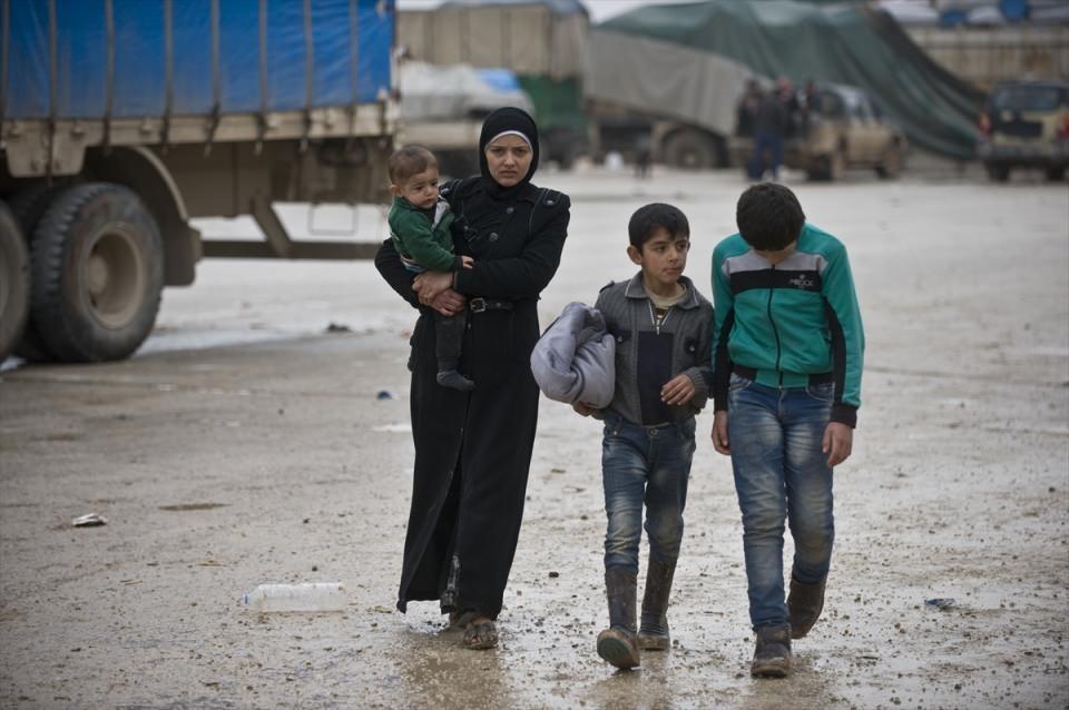 Halep-Azez yolu dram dolu 12