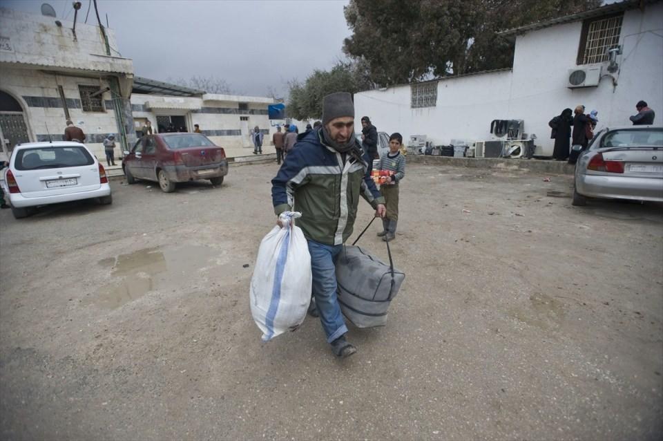 Halep-Azez yolu dram dolu 20