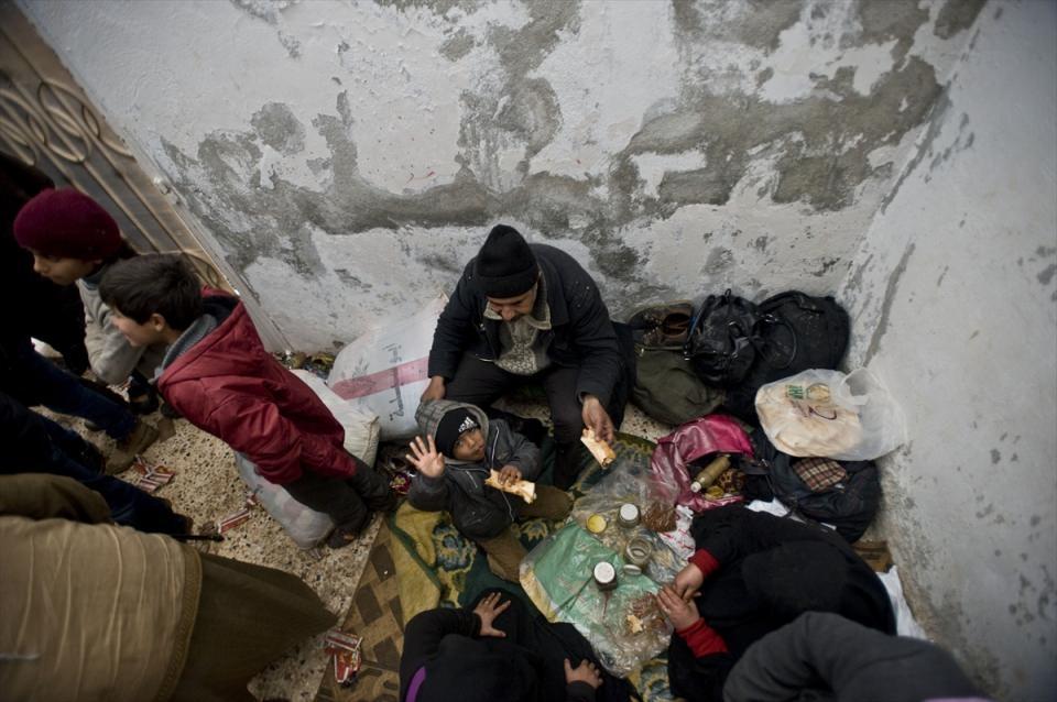 Halep-Azez yolu dram dolu 24