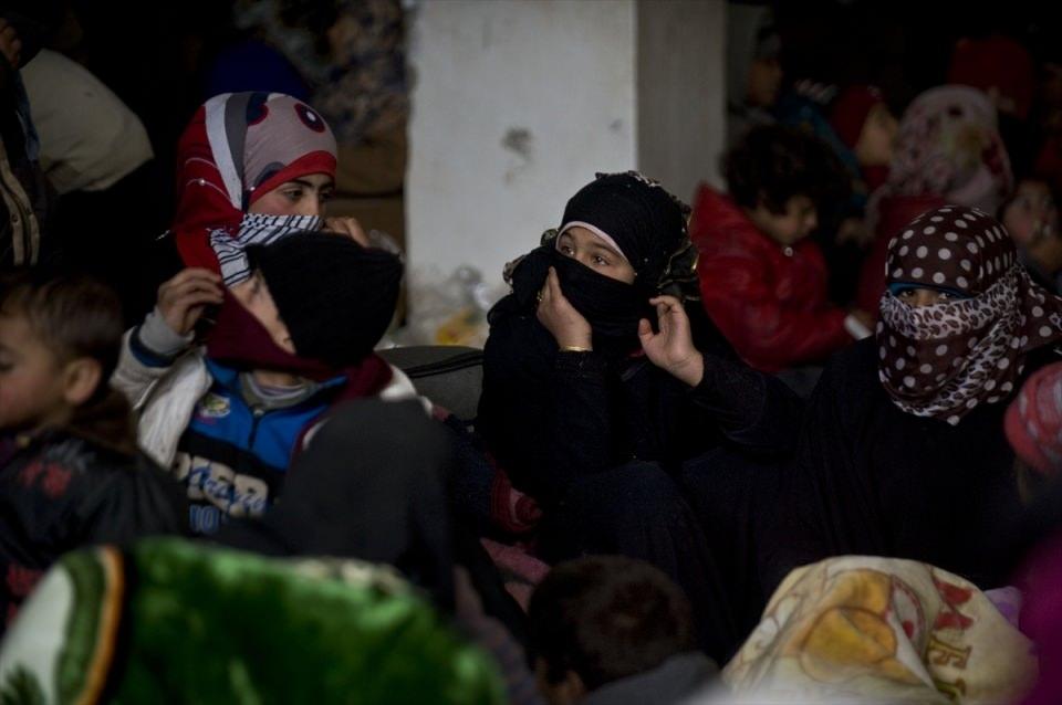 Halep-Azez yolu dram dolu 25