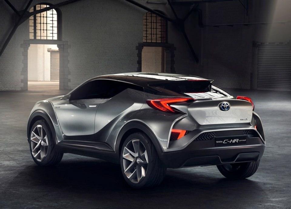 Toyota'dan inanılmaz model: C-HR 2