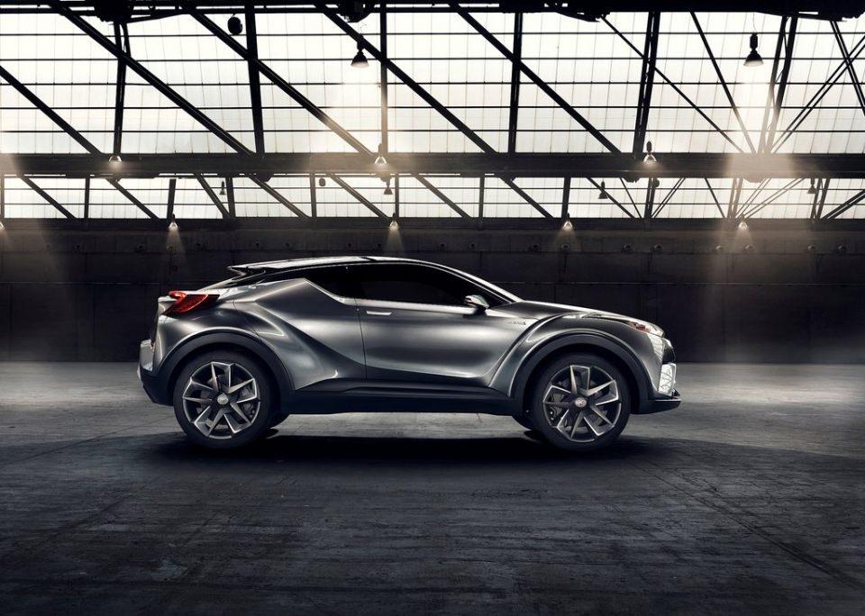 Toyota'dan inanılmaz model: C-HR 3