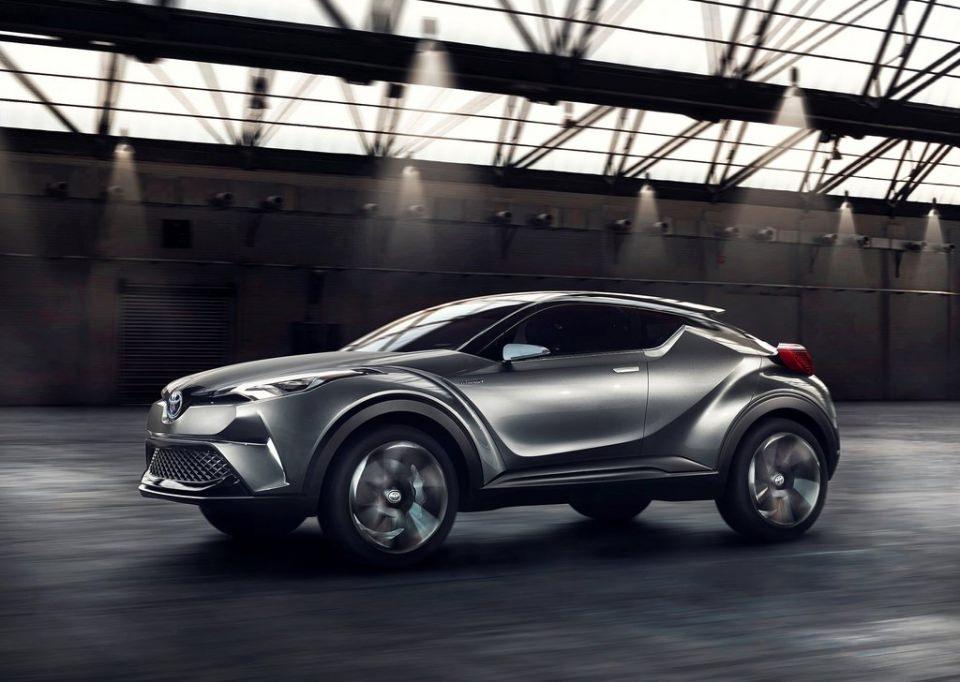 Toyota'dan inanılmaz model: C-HR 6