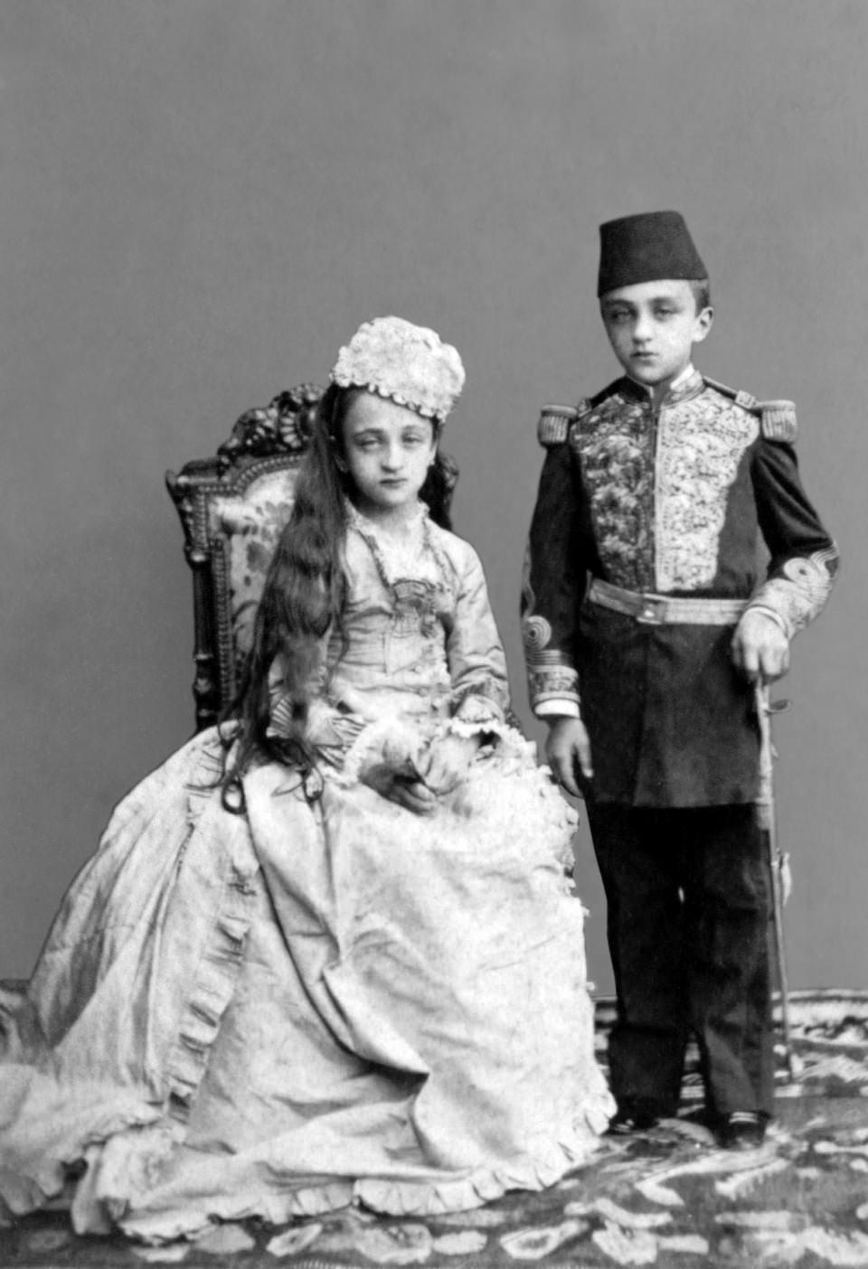 Sultan 2. Abdülhamit'in görmediğiniz aile albümü 7
