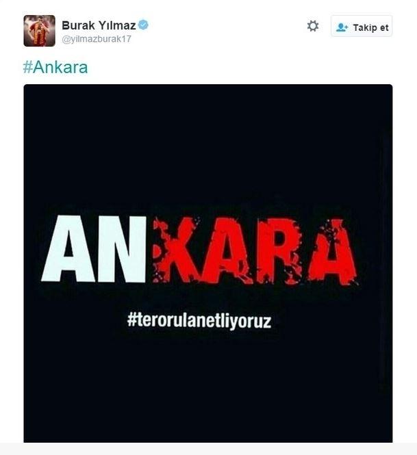 Spor dünyasından Ankara'daki saldırıya büyük tepki! 1