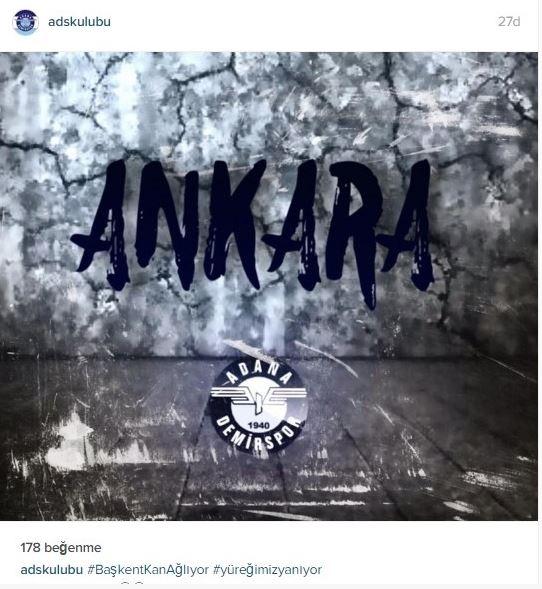 Spor dünyasından Ankara'daki saldırıya büyük tepki! 11