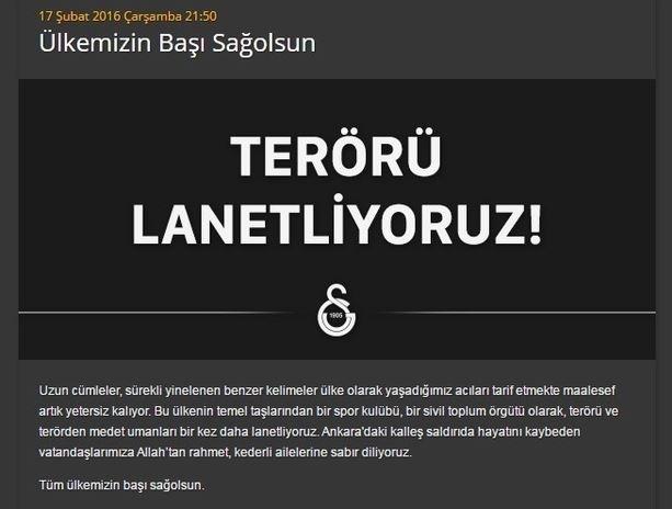 Spor dünyasından Ankara'daki saldırıya büyük tepki! 13