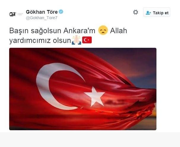Spor dünyasından Ankara'daki saldırıya büyük tepki! 14