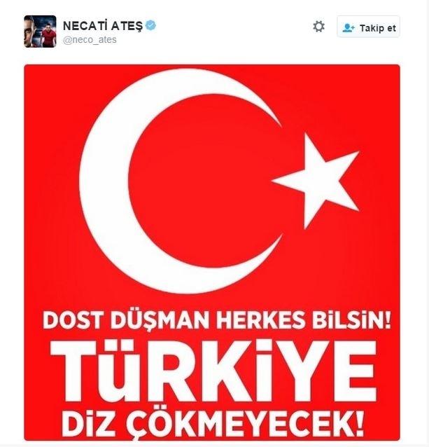 Spor dünyasından Ankara'daki saldırıya büyük tepki! 5