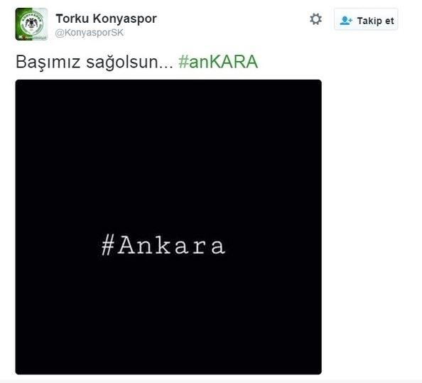 Spor dünyasından Ankara'daki saldırıya büyük tepki! 6