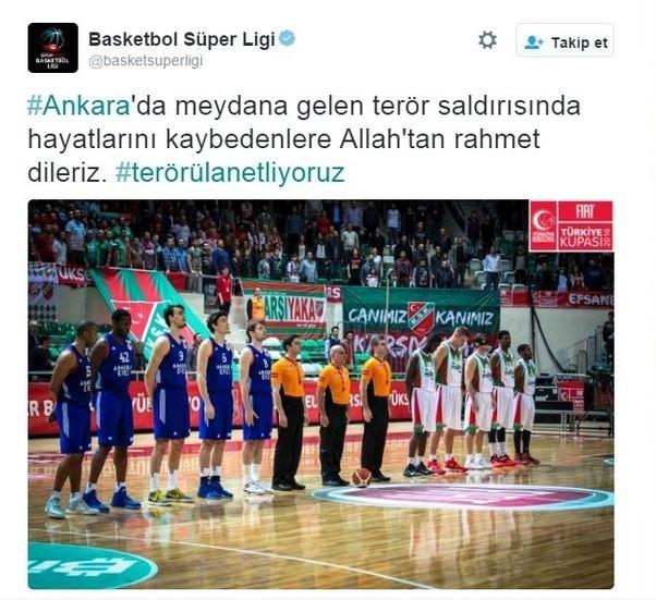 Spor dünyasından Ankara'daki saldırıya büyük tepki! 7