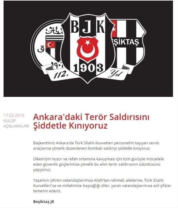 Spor dünyasından Ankara'daki saldırıya büyük tepki! 9