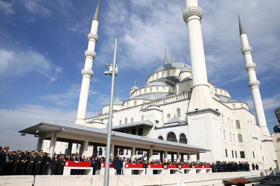 Ankara'daki Şehitlerimiz uğurlandı. 1