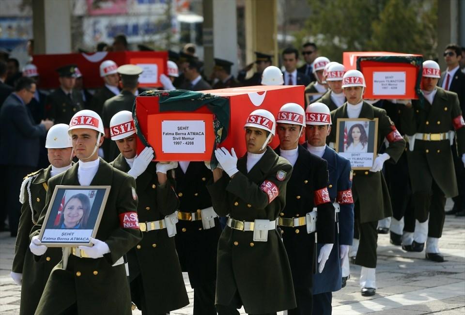 Ankara'daki Şehitlerimiz uğurlandı. 10