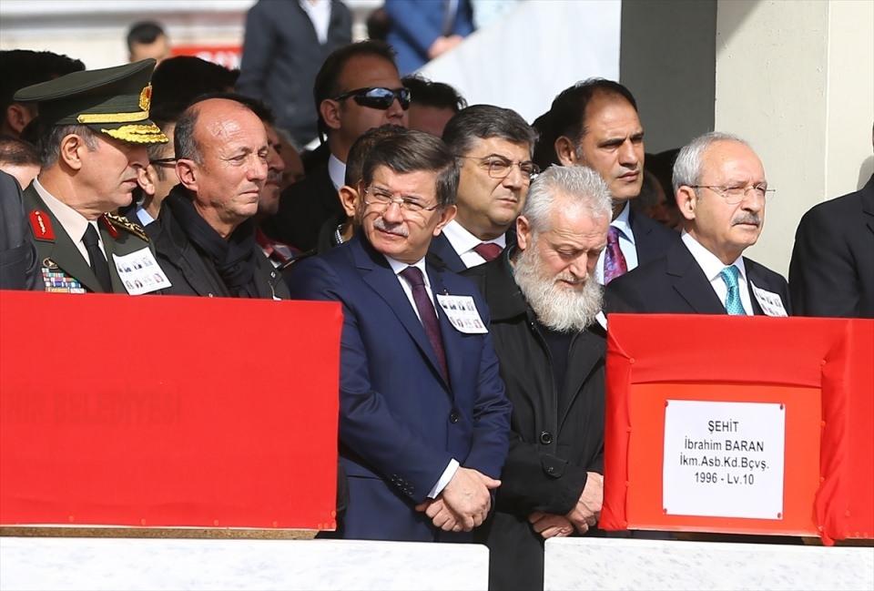Ankara'daki Şehitlerimiz uğurlandı. 11