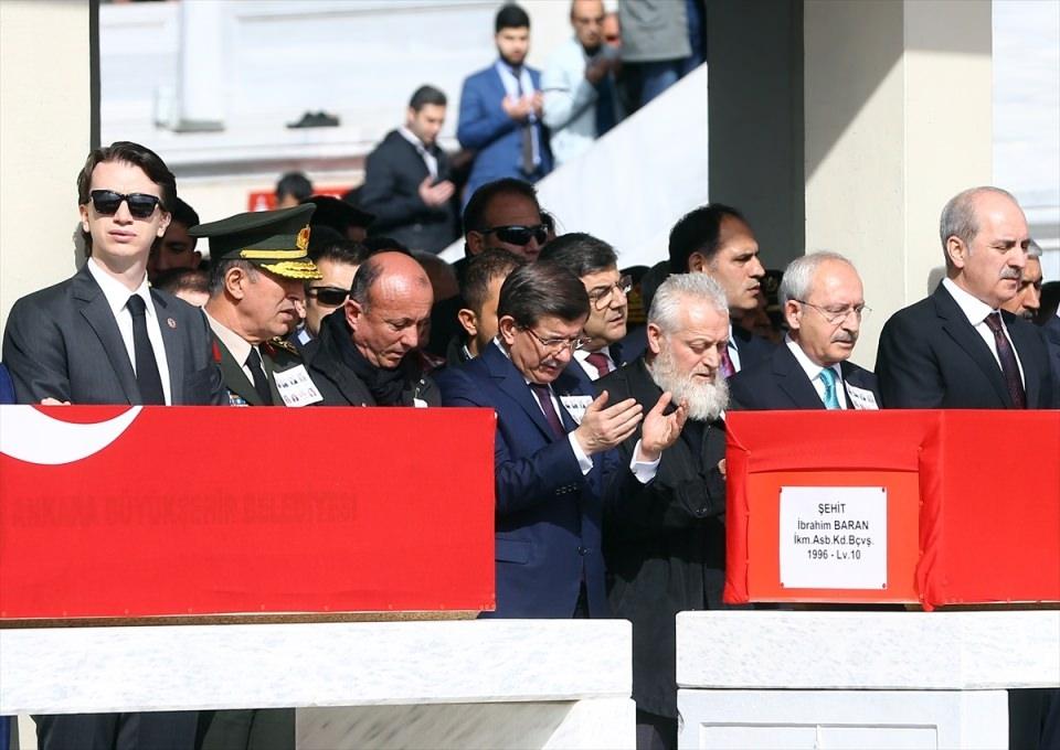 Ankara'daki Şehitlerimiz uğurlandı. 12