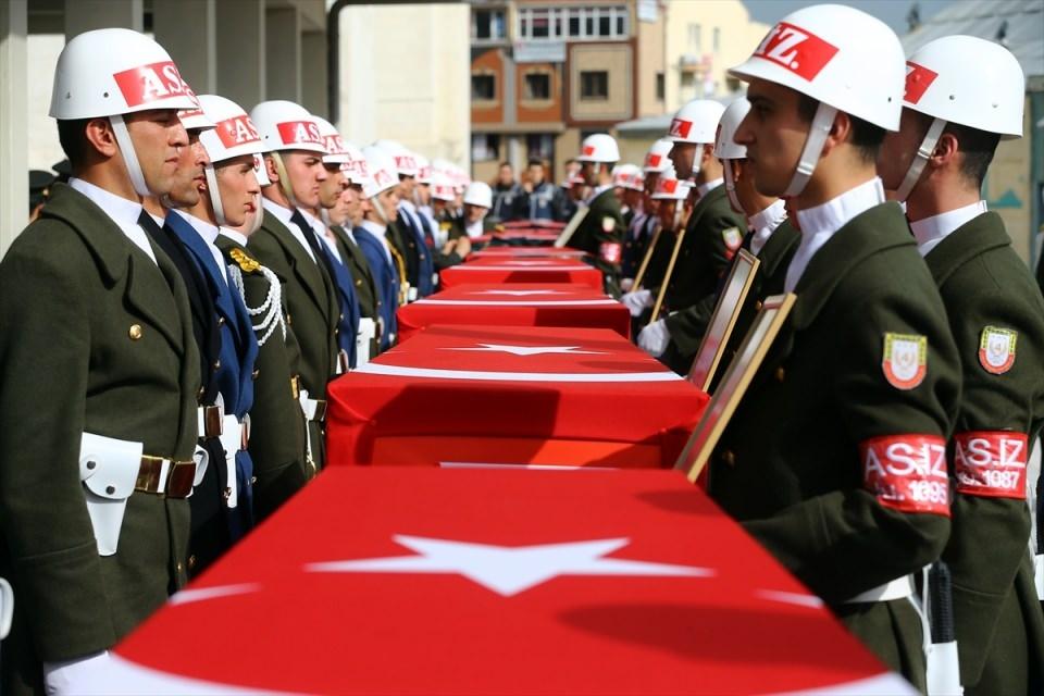Ankara'daki Şehitlerimiz uğurlandı. 13
