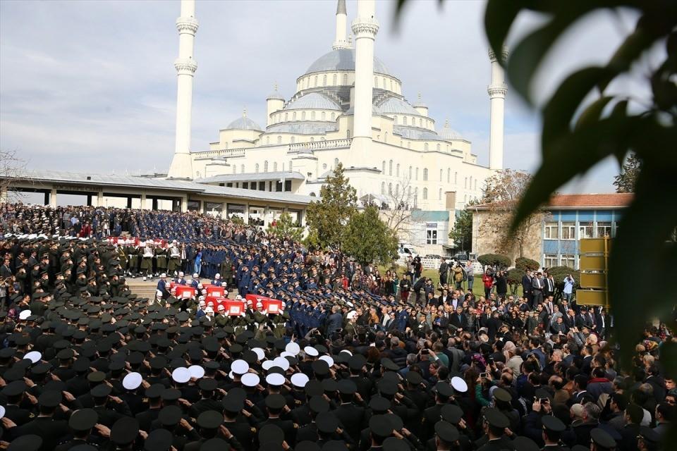 Ankara'daki Şehitlerimiz uğurlandı. 16