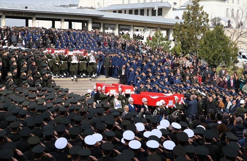 Ankara'daki Şehitlerimiz uğurlandı. 17