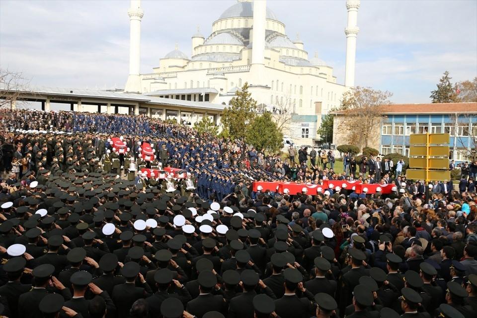 Ankara'daki Şehitlerimiz uğurlandı. 18