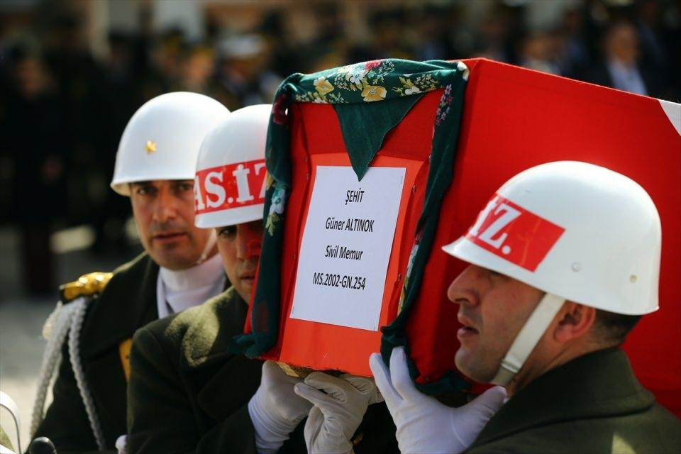 Ankara'daki Şehitlerimiz uğurlandı. 3