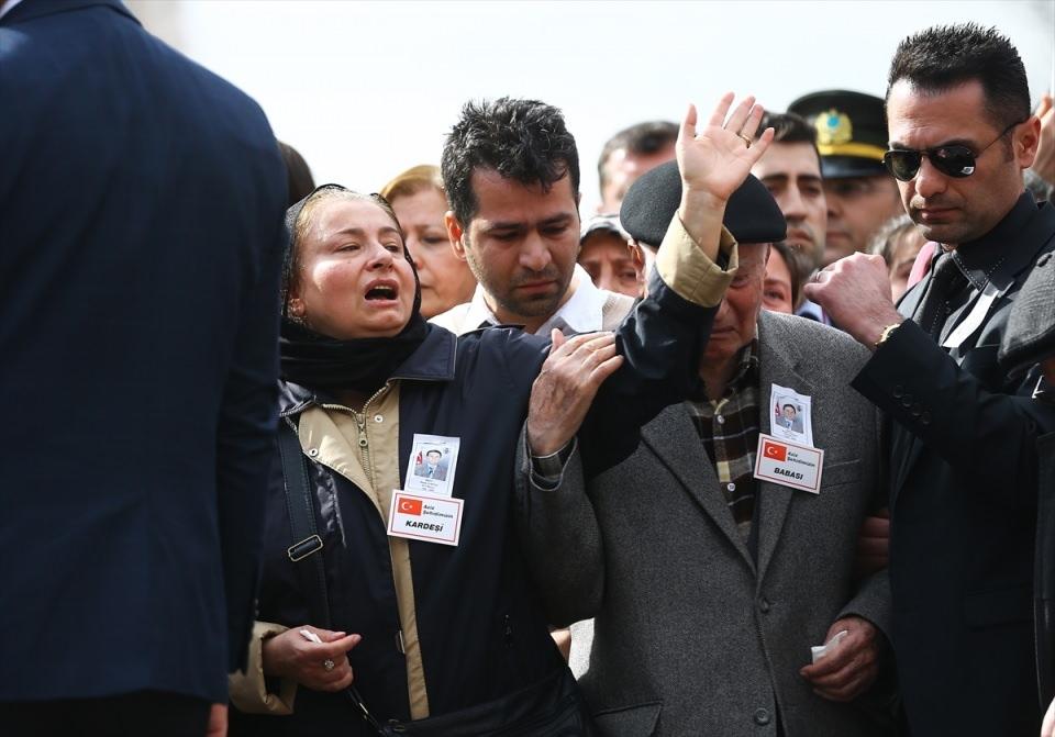 Ankara'daki Şehitlerimiz uğurlandı. 6