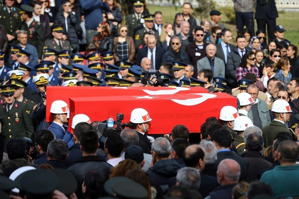 Ankara'daki Şehitlerimiz uğurlandı. 7