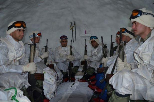 """""""Özel komando""""lar Ilgaz Dağı'nda kış eğitiminde 11"""