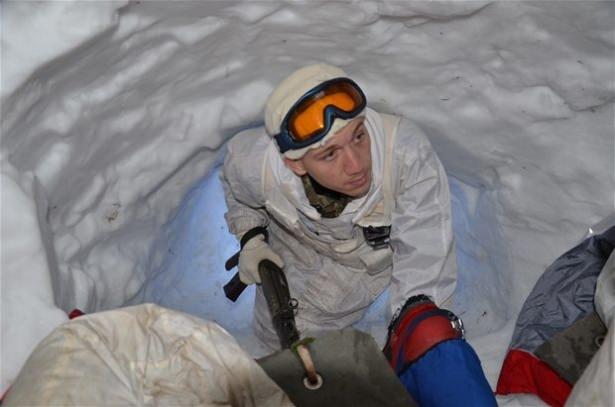 """""""Özel komando""""lar Ilgaz Dağı'nda kış eğitiminde 15"""