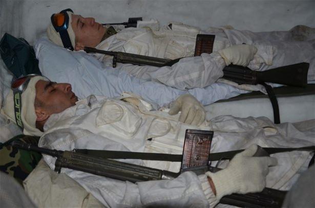 """""""Özel komando""""lar Ilgaz Dağı'nda kış eğitiminde 17"""