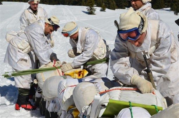 """""""Özel komando""""lar Ilgaz Dağı'nda kış eğitiminde 18"""