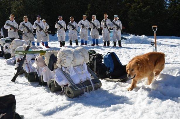 """""""Özel komando""""lar Ilgaz Dağı'nda kış eğitiminde 20"""