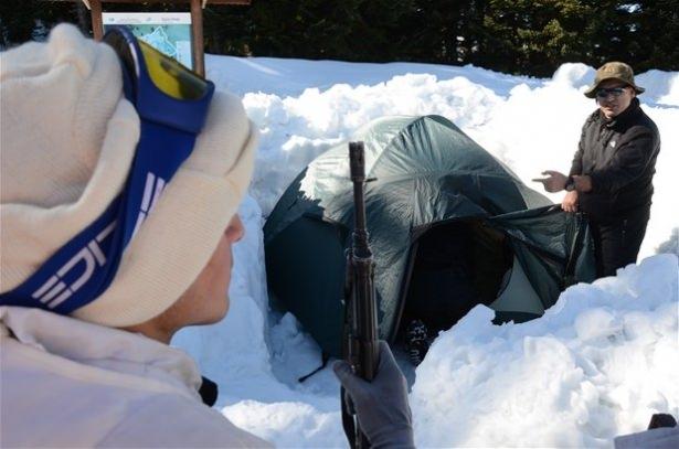 """""""Özel komando""""lar Ilgaz Dağı'nda kış eğitiminde 23"""