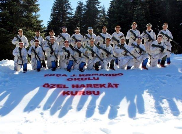 """""""Özel komando""""lar Ilgaz Dağı'nda kış eğitiminde 4"""