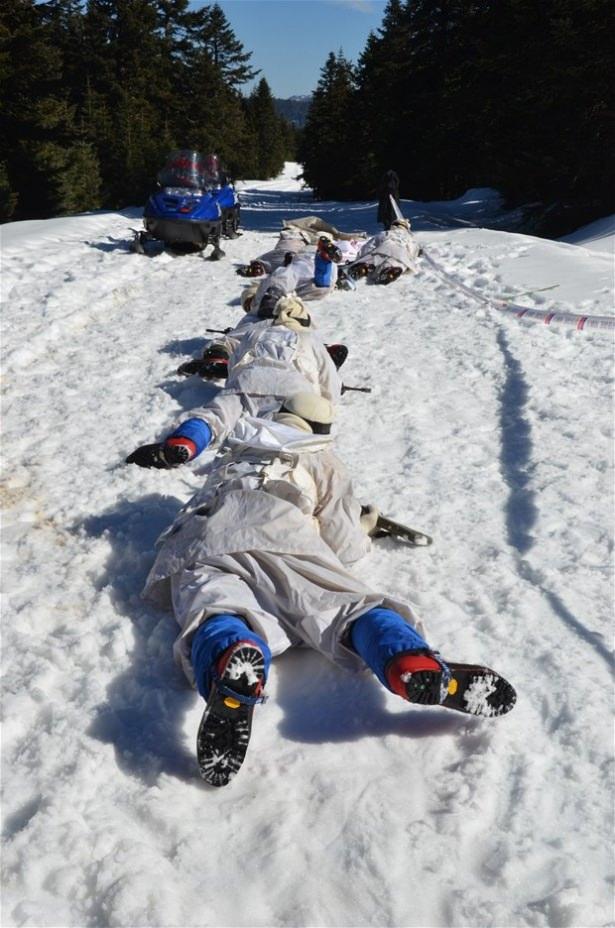 """""""Özel komando""""lar Ilgaz Dağı'nda kış eğitiminde 6"""