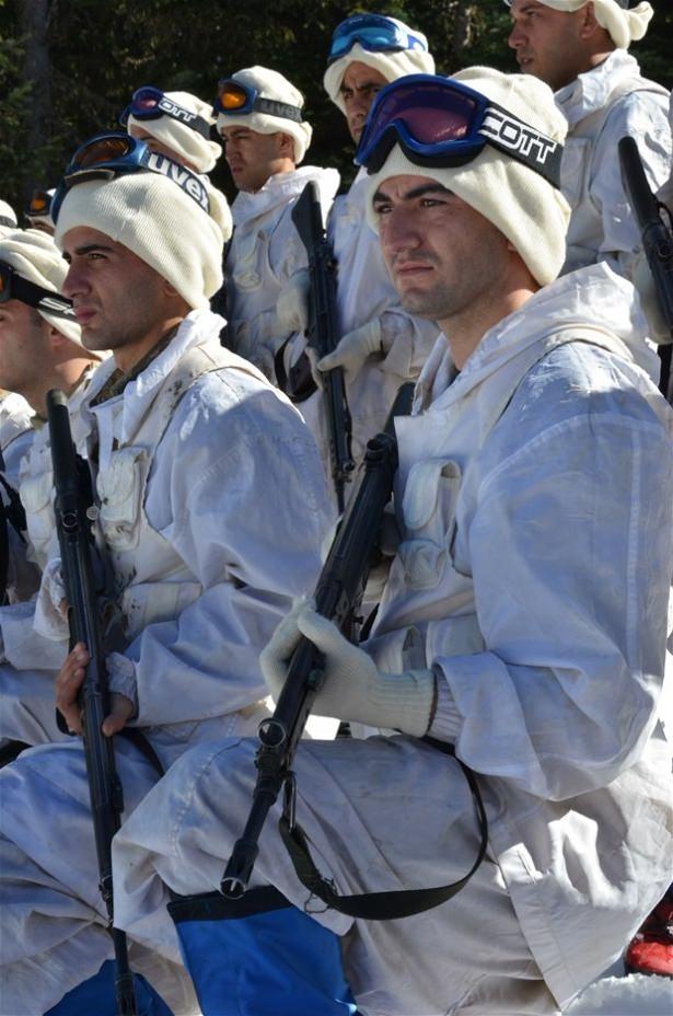 """""""Özel komando""""lar Ilgaz Dağı'nda kış eğitiminde 7"""