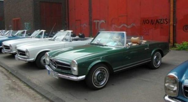 Hiç görmediğiniz Mercedes'ler 53