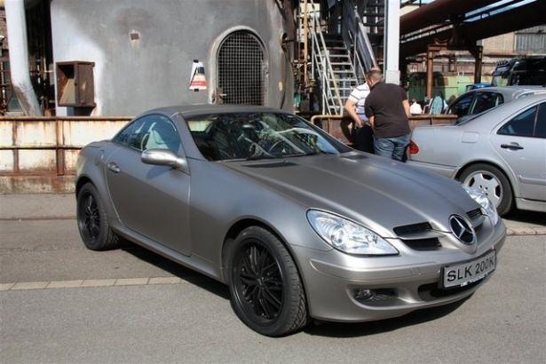 Hiç görmediğiniz Mercedes'ler 7