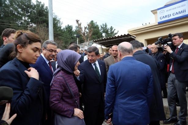 Başbakan Cuma namazını Silopi'de kıldı 11