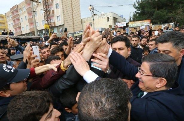 Başbakan Cuma namazını Silopi'de kıldı 24