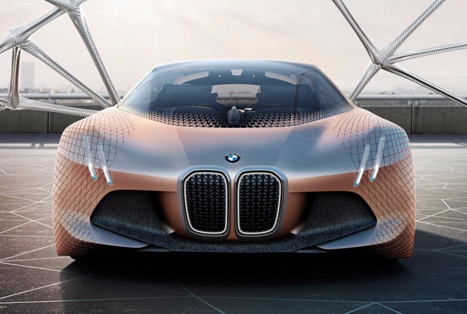 BMW bombayı patlattı! İşte geleceğin tasarımı 10