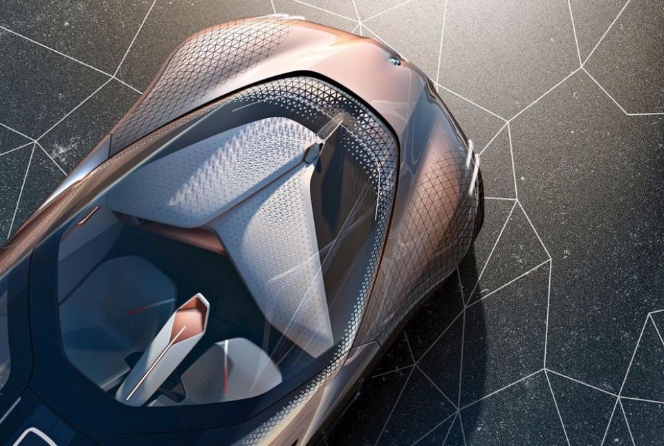 BMW bombayı patlattı! İşte geleceğin tasarımı 12