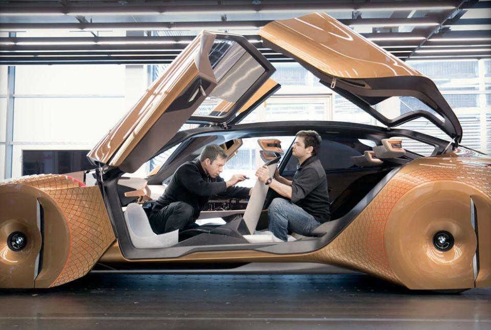 BMW bombayı patlattı! İşte geleceğin tasarımı 7