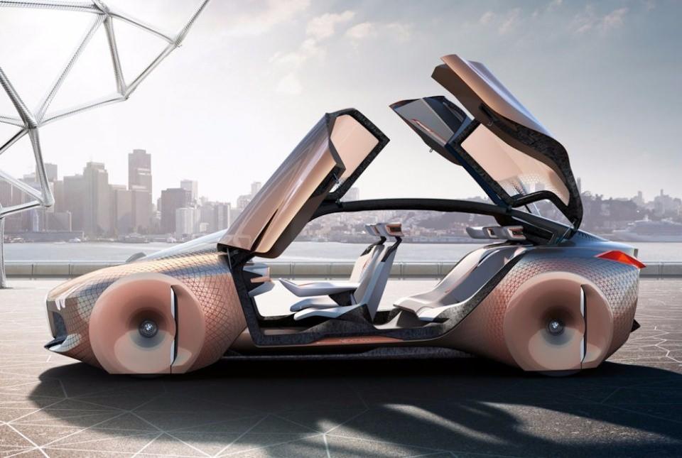 BMW bombayı patlattı! İşte geleceğin tasarımı 8