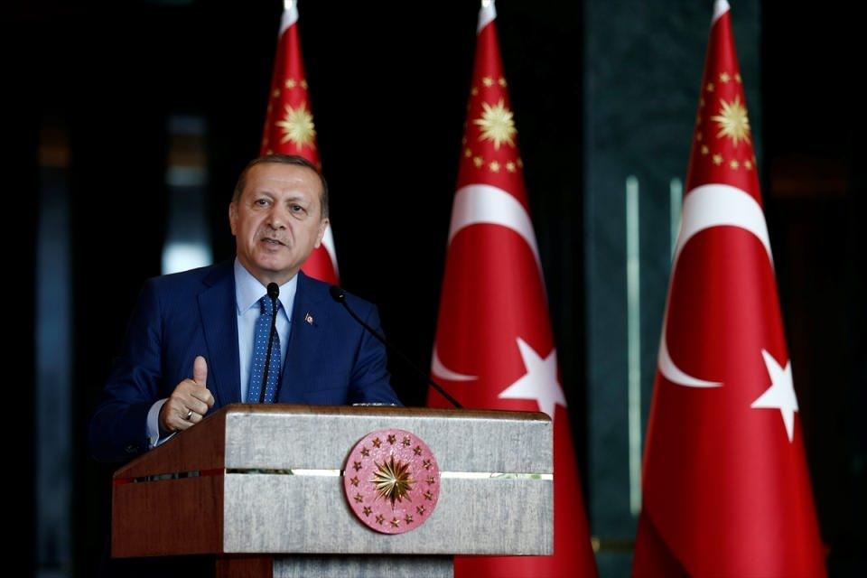 Erdoğan'dan 'Dünya Kadınlar Günü' resepsiyonu 1