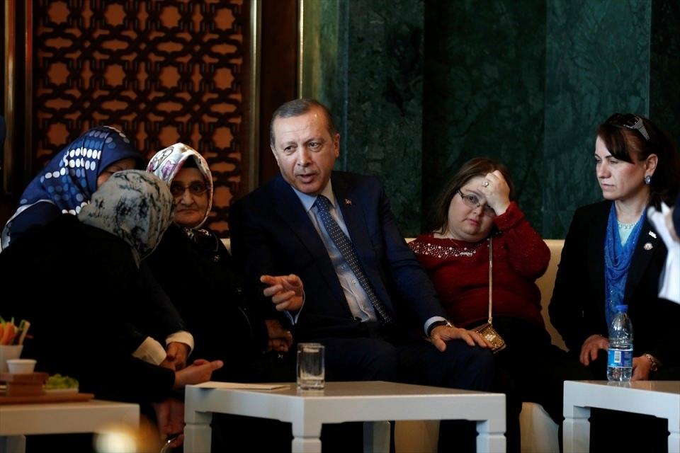 Erdoğan'dan 'Dünya Kadınlar Günü' resepsiyonu 10